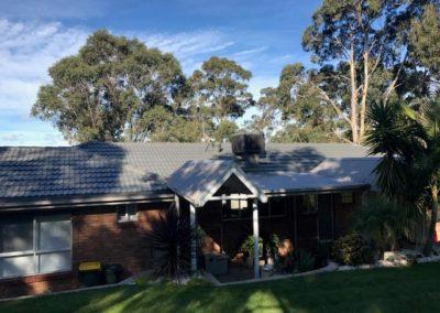 Terricotta tile roof