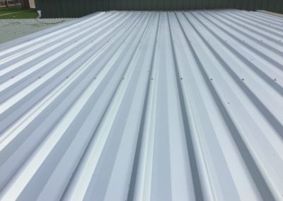 flat metal roofing pic2