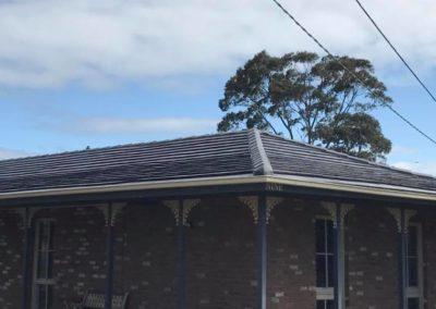 Terracotta roof