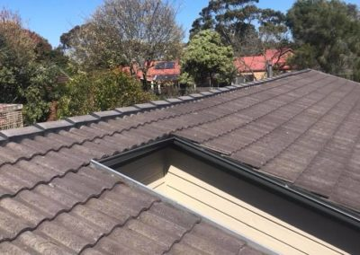 roof repairs on a tiled roof