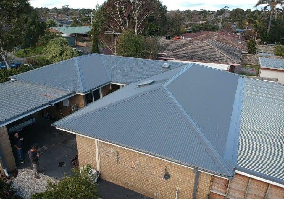 Re roof in Frankston