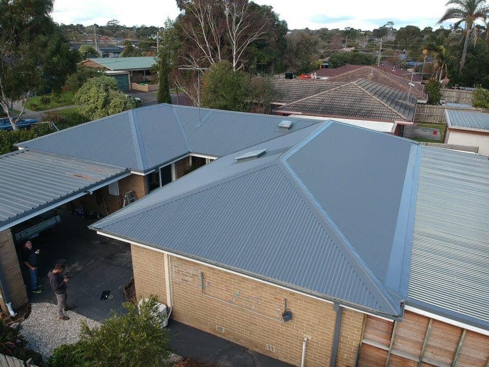 Re roof in Frankston