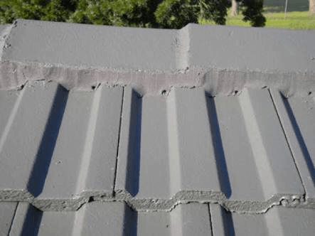 weep holes in a tiled roof